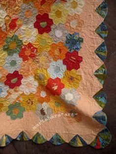 Rund um meine Nähwelt und mehr: Patchwork Blumengarten