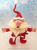 cheerful santa crochet pattern littleowlshut baklava