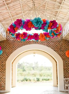 Vibrant Pink Rehearsal Dinner at Flora Farms - Inspired By This Mexican Birthday Parties, Mexican Fiesta Party, Mexican Party Decorations, Quince Decorations, Rehearsal Dinners, Wedding Rehearsal, Wedding Reception, Candy Centerpieces, Quinceanera Centerpieces