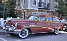 1953 Studebaker Wagon | Buick Estate Wagon 1953
