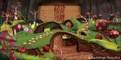 Backdrops: Wonka Chocolate Factory