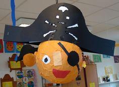 piraat papier mache
