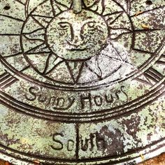 I think it'll be sunny enough to tell the time today! #vintagesundial #sundial #telltime #time #timetoshop #vintagegarden #gardenlife #gardendecor #countryliving #sussexlife #vintageshop #vintagelife #eastgrinstead #sussex #lovinglymade