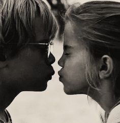 First Kiss... My Girl :) Thomas J and Veda. I love the movie my girl!