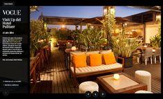 La terraza del hotel Pulitzer Barcelona en Vogue: http://www.vanidad.es/mixedup/terrazas-nacionales-desde-el-cielo