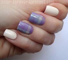 Nailpolis Museum of Nail Art | plaid manicure by ania