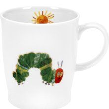 the hungry caterpiller mug- one of my favorite kid's books.