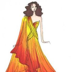 Image result for fire dress