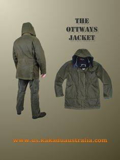 The OTTWAYS JACKET.  Now all you need is the Range Rover and you will look like gentry.