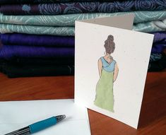 Babywearing Card by Bird Doodle on Etsy