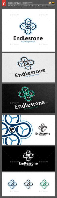 Endless Drone Logo on Behance