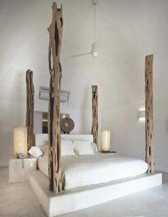 Bett selber bauen für ein individuelles Schlafzimmer-Design_diy bett aus beton