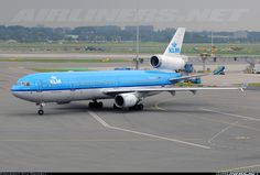 Photo taken at Amsterdam - Schiphol (AMS / EHAM) in Netherlands on September Mcdonnell Douglas Md 11, Aircraft Pictures, Jet, Aviation, Vintage, Airports, Vintage Comics, Aircraft