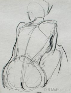 Take one of our figure drawing and learn to make a gesture drawing! (art by S.Mckeeman)