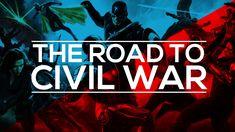 MCU Supercut - The Road To Civil War