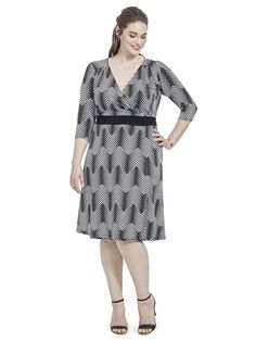 Dominique Dress In Black & Taupe by @IGIGI    Available in sizes 12-32