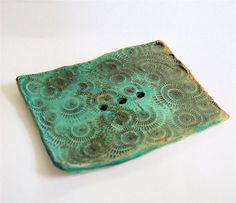 Fossilized Soap Dish by sleeKsoap on Etsy, $15.00