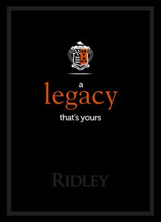 Ridley College Brand Book. [Turnaround Marketing Communications]
