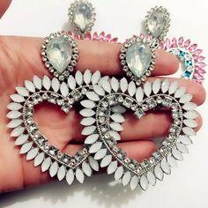 Heart Earrings, Heart Ring, Jewelry, Jewlery, Bijoux, Jewerly, Heart Rings, Jewelery, Jewels