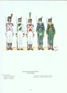 . Army Uniform, Military Uniforms, Italian Army, Napoleonic Wars, Warfare, Troops, Dutch, History, Holland