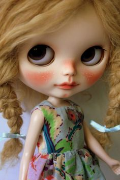 Philomene  OOAK Custom Blythe Art Collector by BlytheDollBakery, £517.00