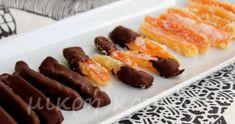 Θυμάστε τις ζαχαρωμένες πορτοκαλόφλουδες; Ένα γλυκό νηστίσιμο με μεγάλο σουξέ! Παρόλο που έχω φτιάξει πολλές φορές ζαχαρωμένες πορτοκαλόφλο... Greek Recipes, Dessert Recipes, Desserts, Family Meals, Sausage, Food And Drink, Sweets, Fruit, Tailgate Desserts