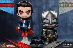 Batman v Superman: Dawn of Justice - Armored Batman & Superman Cosbaby Collectible Set