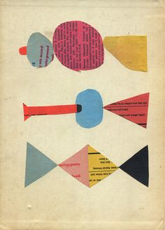 alfiusdebux: #collage #art #abstract #paper