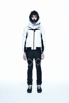 YOSHIO KUBO, AW11: pretty sure the model is a cadaver, but the puffy jacket is rad. #outerwear #yoshio_kubo