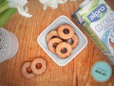 Bűntelen vaníliás karika - Add meg a MODE-ját! Izu, Paleo, Coconut, Sweets, Cookies, The Originals, Drinks, Desserts, Blog