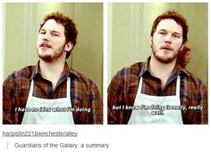 ~Guardians of the Galaxy, a summary, and you know, also a summary of my life.~