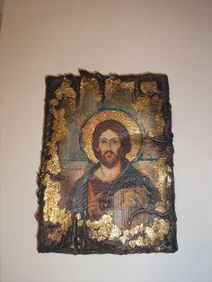 Mary I, Mary And Jesus, Holy Mary, Painting Tips, Painting On Wood, Decoupage On Canvas, Christian Prayers, Byzantine Icons, Orthodox Icons