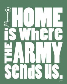 Our army families have sacrificed so much to keep our nation safe! Thank you for staying strong when it's so hard to keep a job due to constant PCS! Having to make new friends every few years! Having to change schools and homes and never making a peep about it! You are all heros in our eyes! Thank you from the entire team at United Military Travel! home is where the ARMY sends us... https://www.unitedmilitarytravel.com/main/
