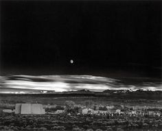 Ansel Adams   Moonrise over Hernandez, New Mexico