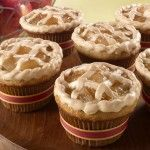 Delicious Apples Cupcake recipe step by step Apple Pie Cake, Apple Cupcakes, Recipe Steps, Cupcake Recipes, Caramel Apples, Cheesecake, Muffin, Cooking, Breakfast