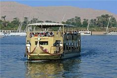 Ferry across the River Nile