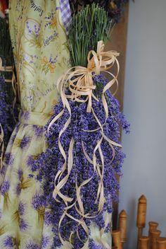 Fresh lavender swag available at Sage Creations Organic Farm.  Make fresh or dried.