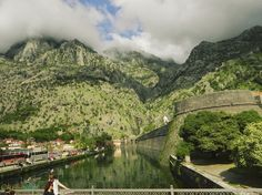 Northern Gate, Kotor - when the clouds arrived