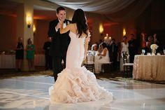 First Dance   Couples Portrait   Blush Wedding Dress   Omni Barton Creek Resort & Spa   Stefano Choi Photography   Pearl Events Austin  