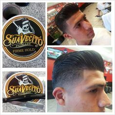 Suave Look Have a haircut that always looks cool! #suave #suavelook #firmhold #granadasquarebarbers