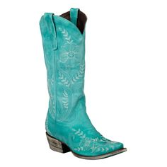 Lane Boots Women's 'Ashlee Lace' Leather Cowboy Boots - Overstock™ Shopping - Great Deals on Lane Boots Boots