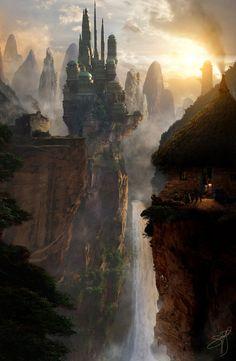 Castle Fantasy Matte 2 by rich35211 on DeviantArt