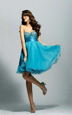 Short Strapless Prom Dress Blue For Cheap [Short Strapless Prom Dress Blue] - $150.00 : Cheap Formal Dresses, Discounted Prom Dresses at DressesBarnCheap