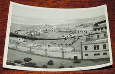 FOTOGRAFIA DE CABO JUBY, SAHARA ESPAÑOL, CAMPAMENTO OFICIALES ESPAÑOLES Y AERODROMO, AÑO 1932, MIDE - Foto 1