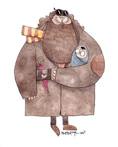 Mister Hope - Hagrid and Harry