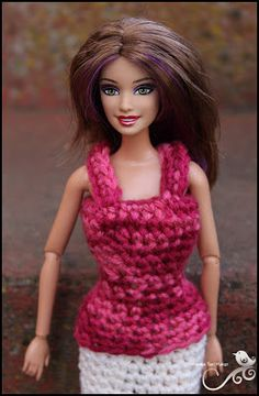Mamma That Makes: Barbie Month .4 - Strapped Top