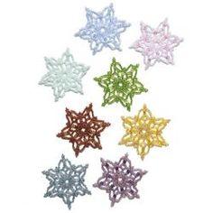 * Beaded Christmas Stars - free pattern: http://bnb.jewelrymakingmagazines.com/~/media/import/files/pdf/9/5/e/bbpdf06101281.pdf