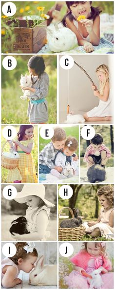 CUTE Easter photo shoot ideas...