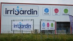 Support banderole publicitaire – Irrijardin