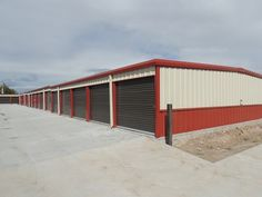 Mini Storage Outlet Supplied This Self Storage Building In Cheyenne, Wyoming.  We Offer Low Prices On Mini Storage Building Kits And Prefab Storage Units.